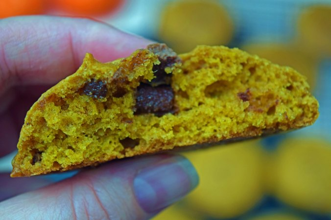 Pumpkin cookie hand