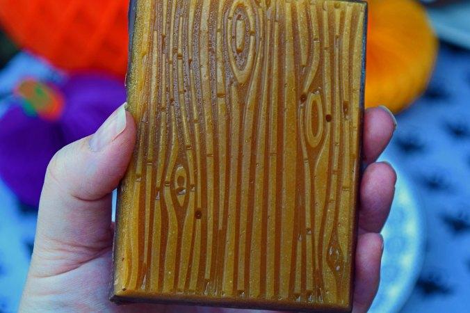 Halloween bark butterscotch