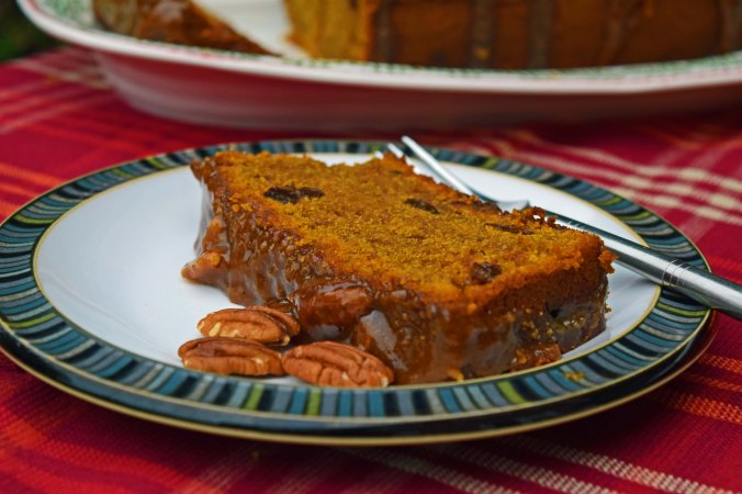 pumpkin loaf slice