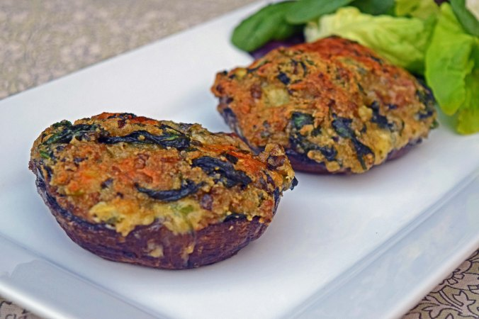 Stuffed mushrooms2