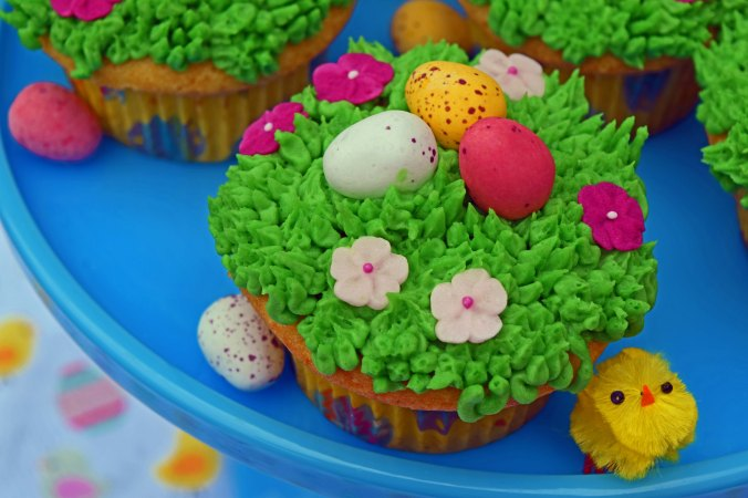 Easter cupcakes2