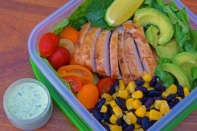 Southwestern Salad lunchbox