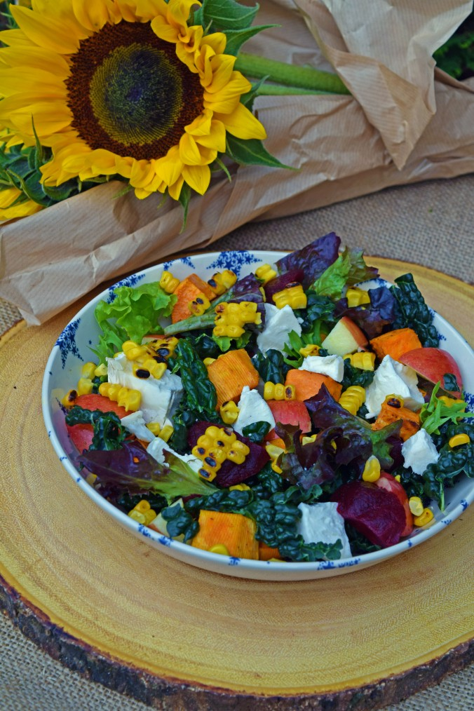 Harvest salad bowl