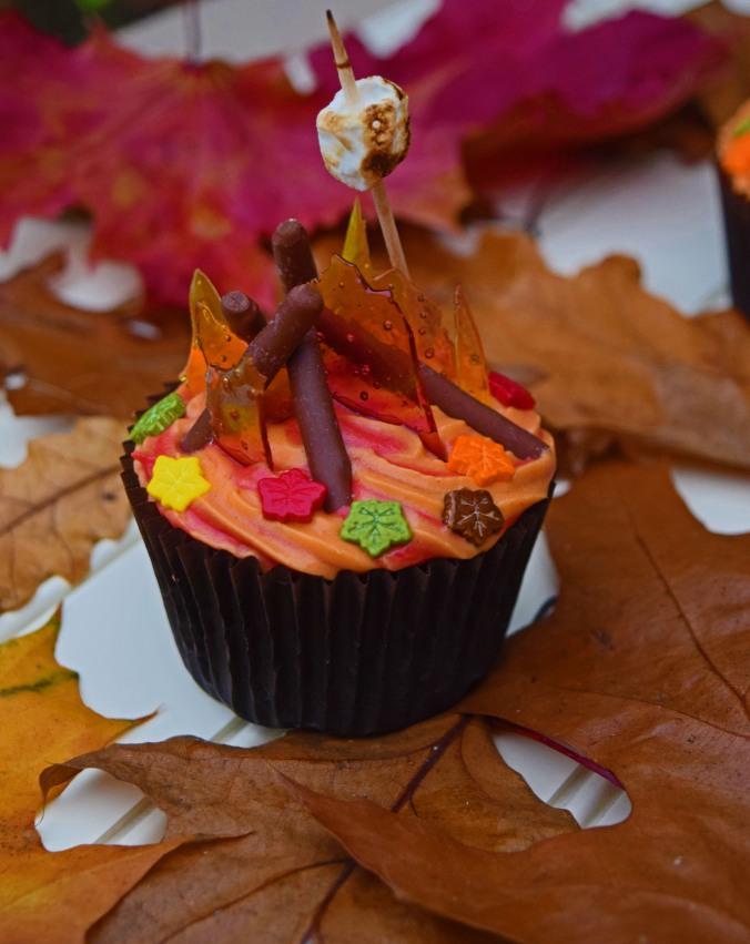 Bonfire Cupcake2