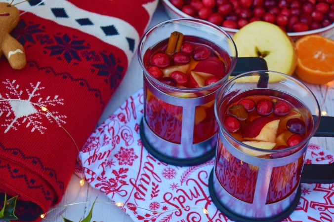 Cranberry Mulled Cider1