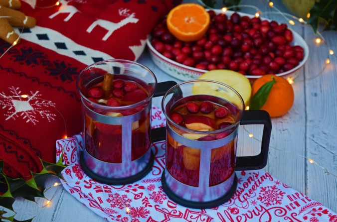 Cranberry Mulled Cider4