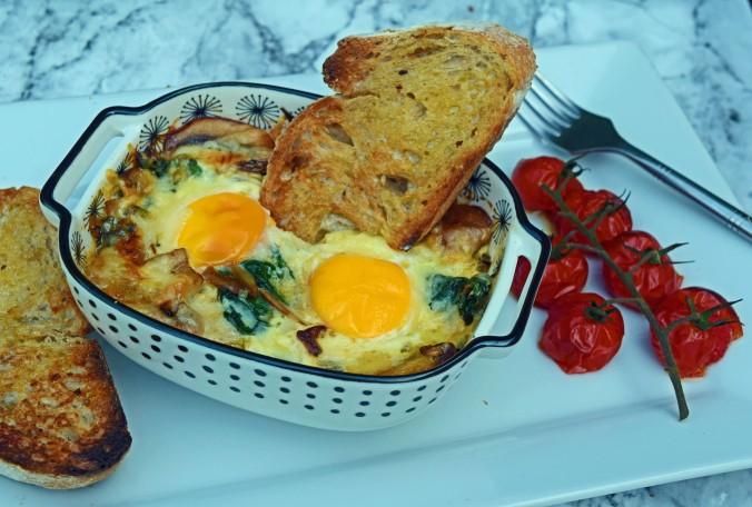 Baked Eggs01